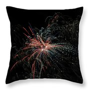Fireworks 15 Throw Pillow