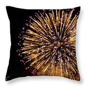 Fireworks 2014  10 Throw Pillow