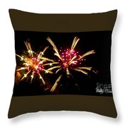 Fireworks 2014  12 Throw Pillow