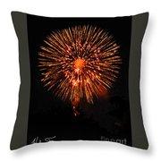 Fireworks 2014  13 Throw Pillow