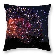 Fireworks 2014  3 Throw Pillow