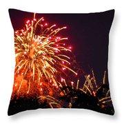 Fireworks 2014  4 Throw Pillow