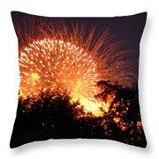 Fireworks 2014  5 Throw Pillow