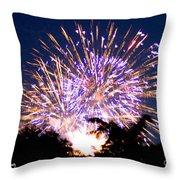 Fireworks 2014  6 Throw Pillow