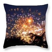 Fireworks 2014  7 Throw Pillow