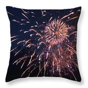 Fireworks 2014 Ix Throw Pillow