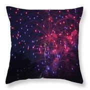 Fireworks 2014 Vi Throw Pillow