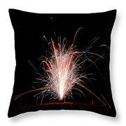 Fireworks 24 Throw Pillow