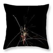 Fireworks 25 Throw Pillow