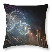 Fireworks-2887 Throw Pillow