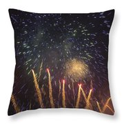 Fireworks-3027 Throw Pillow