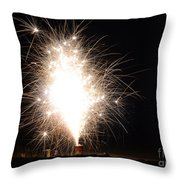 Fireworks 46 Throw Pillow