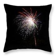 Fireworks 53 Throw Pillow