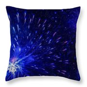 Fireworks At Night 1 Throw Pillow