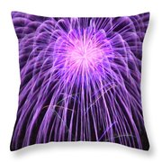 Fireworks At Night 2 Throw Pillow