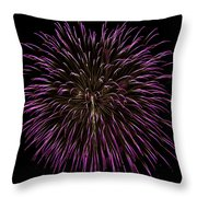 Fireworks Bursts Colors And Shapes 5 Throw Pillow