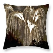 Fireworks Bursts Colors And Shapes 6 Throw Pillow