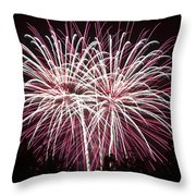 Fireworks Bursts Colors And Shapes 7 Throw Pillow