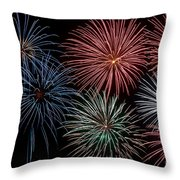 Fireworks Extravaganza 4 Throw Pillow