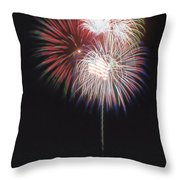 Fireworks For 4th Of July Throw Pillow