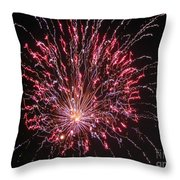 Fireworks For All Throw Pillow