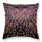Fireworks Phoenix Throw Pillow