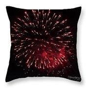 Fireworks Series Ix Throw Pillow