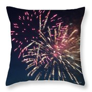 Fireworks Series Xiii Throw Pillow