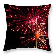 Fireworks1 Throw Pillow