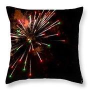 Fireworks2 Throw Pillow