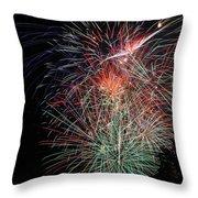 Fireworks6504 Throw Pillow