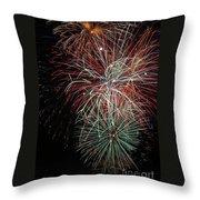 Fireworks6506 Throw Pillow