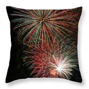 Fireworks6509 Throw Pillow
