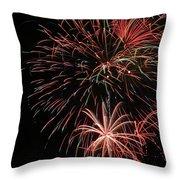 Fireworks6525 Throw Pillow