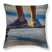 Firmly Planted Throw Pillow