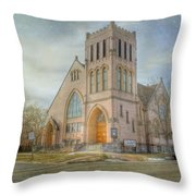 First Avenue Presbyterian Church  Throw Pillow