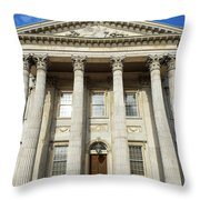 First Bank Of The United States Philadelphia Throw Pillow