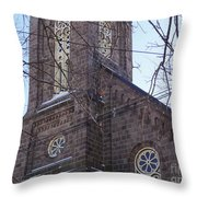 First Baptist Church Throw Pillow