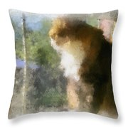 First Birds Of Spring Throw Pillow