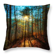 First Day In Heaven Throw Pillow