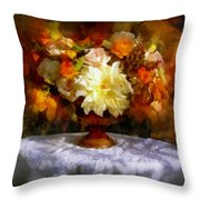 First Day Of Autumn - Still Life Throw Pillow
