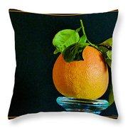 First Harvest 2015 Throw Pillow