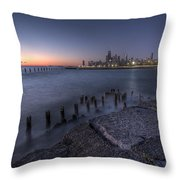 First Hint Of Sunlight Throw Pillow