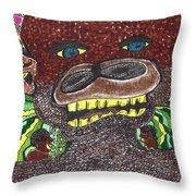 First Jungle Throw Pillow