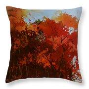 First Light Throw Pillow by Kris Parins