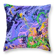 First Love Throw Pillow by Donna Blackhall