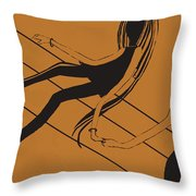 First Love   Number 11 Throw Pillow