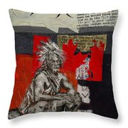 First Nations 14 Throw Pillow