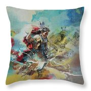 First Nations 20 Throw Pillow