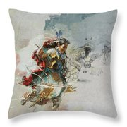 First Nations 20b Throw Pillow